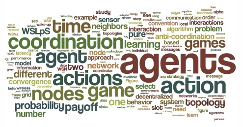 a tag cloud of my phd thesis